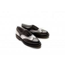 Freud Brogue Shoe black silver