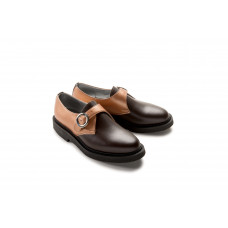 Jung Monk Shoe copper brown