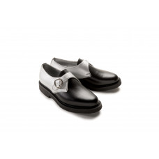 Jung Monk Shoe black silver